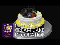 Clay Art Cream Cake Decoration (плейлист)