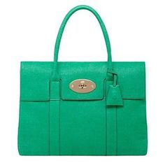 The Mulberry Bayswater bag - I have absolutely NOTHING that matches with it but I just love the color and style of the bag.... my next handbag!