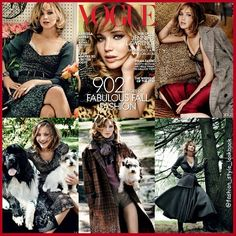 JENNIFER LAWRENCE covers VOGUE SEP 2013#jenniferlawrence #blonde #puppy #pup #dog #catchingfire #thehungergames #liamhemsworth #style #fashion #instastyle #instafashion #beautiful #ootd #hot #skinny #teenager #inspiration #hollywood #fashionista #fashionicon  #styleicon #perfection #celebrity #streetstyle #hipster #streetfashion #classy #love #weheartit... - Celebrity Fashion