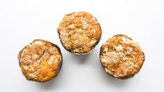 Giant muffins, or personal-size cakes? You decide. Either way, a stir-in of cinnamon apple pie filling makes for happy, happy days. Muffin Recipes, Apple Recipes, Fall Recipes, Holiday Recipes, Jumbo Muffins, Apple Muffins, Coffee Muffins, Coffee Cake