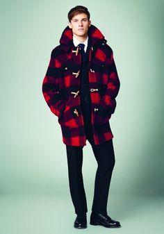 Coat Check! Mens Designer Fashion Trends Gloverall Autumn/Winter 2014