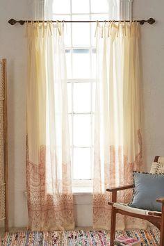 Plum & Bow Henna Asha Window Curtain - Urban Outfitters