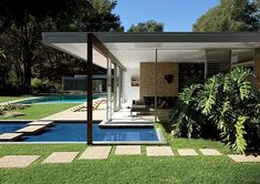 Richard Neutra - Singleton House, Bel Air, California