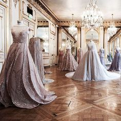Paolo Sebastian Haute Couture 2016-17: Paris showings - Gilded Wings.