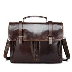 1232380c666 Men Briefcase Genuine leather Business Shoulder Bags Quality Stylish Brand  Handbags Tote Bag for Man