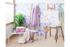 New Zara Home Spring Summer 2014 collection - pastel shades, pastel accessories, floral patterns