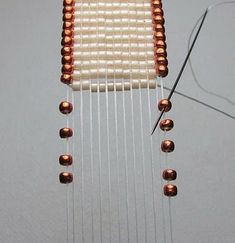 Beads Beading Beaded, with Erin Simonetti: Trice Looming! - cool idea to add the edge beads on a loom.  Great blog mostly about loom beading