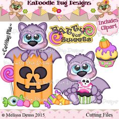 Cutie KaToodles - Batty For Candy - Click Image to Close