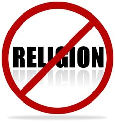 Religion: Canada has no official religion. Many Canadians are atheist, meaning they don't believe in God. No one religion is stronger than the others.   http://en.wikipedia.org/wiki/Religion_in_Canada
