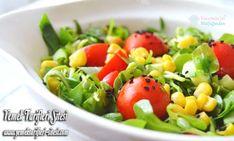 Ingredients for Purslane Salad Recipe 1 bond purslane, 2 tomatoes, 2 cucumbers, 1 small canned Salad Recipes, Diet Recipes, Classic Salad, Recipe Sites, Baked Potato, Potato Salad, Pasta, Chicken, Ethnic Recipes