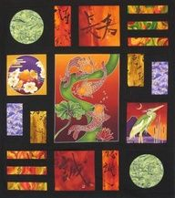 quilt patterns asian fabrics - Google Search