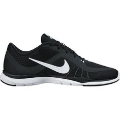 Nike Flex Trainer 6 Womens Athletic Shoes ($70) ❤ liked on Polyvore featuring shoes, athletic shoes, laced shoes, breathable shoes, lace up shoes, synthetic shoes and nike footwear