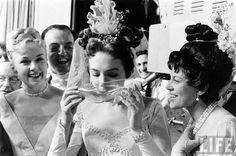 glass slipper + champagne + julie andrews = amazing @Laura Irion