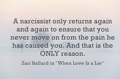 why-narcissists-return