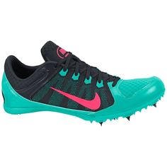 Nike Women's Zoom Rival MD 7 Track and Field Shoe - Turquise/Black   DICK'S Sporting Goods