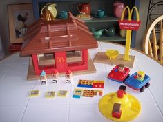 This is the infamous McDonald's playset I had when I was a kid!