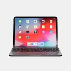 A premium Bluetooth keyboard for the Apple iPad Pro & Full keyboard with dedicated iOS keys. Any-angle viewing from degrees. Matching iPad Pro color, design and form. For iPad Pro and Generations. Newest Macbook Pro, New Macbook, Accessoires Ipad, Ipad Hacks, New Apple Watch, New Ipad Pro, Ipad Stand, Bluetooth Keyboard, Apple Products