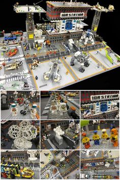 Lego Space station: