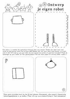 Studio Stift: voor vrolijke illustraties. Ieder idee begint met een stift! Robot, Teaching, School, Studio, How To Draw, Science, Wasp Nest, Planets, Robotics