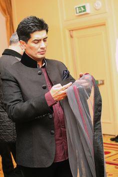 Designer Manish Malhotra prepares for his Fashion Fundraiser in aid of The Angeli Foundation
