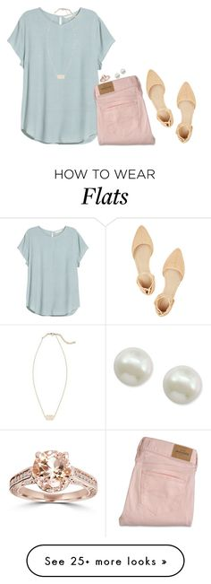 "http://www.myfashiondaily.com/category/kendra-scott/ """" by sassy-and-southern on Polyvore featuring Majorica, J.Crew and Kendra Scott"