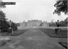 1924  The baroque west front of Wentworth Woodhouse, which was built in 1725. Sim Used CL 20/09/1924