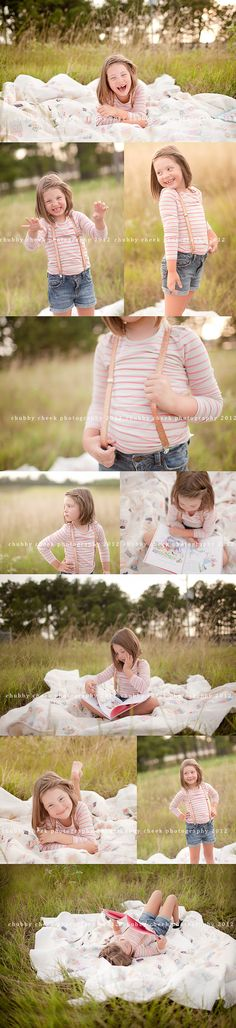 love the sparkle suspenders and overall look of this! Baby photos car seat blanket Great outfits for photo shoot newborn set up Photography Pics, Toddler Photography, Family Photography, School Photography, Creative Photography, Preteen Birthday, Chubby Cheek Photography, Little Girl Photos, Kid Poses