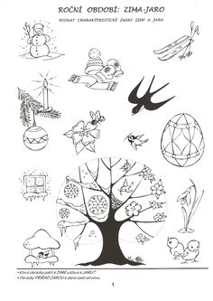 Risultati immagini per pracovní listy zima Spring Activities, Activities For Kids, Baby List, Preschool Kindergarten, Autumn Theme, Worksheets, Art Drawings, Diy And Crafts, Moose Art