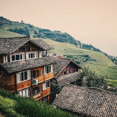 Hiking rice terrace fields near Guilin, China. #china #chinatrip #travellingmoments #instatravel #dnescestujem #goexplore #goadventure #iamtraveler #ilovetravel #travelblogger #vscotravel