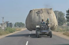India - Hard to believe but it's amazing how they transport stuff
