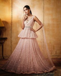 Looking for Bridal Lehenga for your wedding ? Dulhaniyaa curated the list of Best Bridal Wear Store with variety of Bridal Lehenga with their prices Cocktail Outfit, Cocktail Gowns, Designer Wear, Designer Dresses, Gold Lehenga, Mehendi Outfits, Telugu Wedding, Blush Bridal, Lehenga Designs
