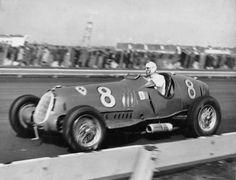 1936 Alfa Romeo 12C-36 Vanderbilt Cup. Tazio Nuvolari