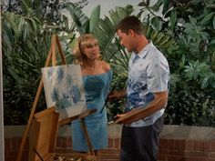 I Dream of Jeannie: Season Episode 3 The Second Greatest Con Artist in the World Sep. Larry Hagman, Barbara Eden, I Dream Of Jeannie, Episode 3, Season 3, Favorite Tv Shows, My Dream, Two By Two, Black And White