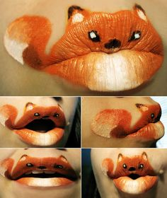 The Amazing World Of Lip Art!!!
