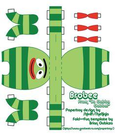 Rylee would love this! Brobee is her favorite!