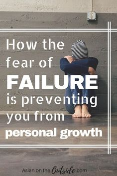 Are you letting fear run your life? A lot of people let fear steer the course of their lives instead of facing them. This is how you could be letting the fear of failure prevent you from personal growth, self improvement, and achieving you goals.