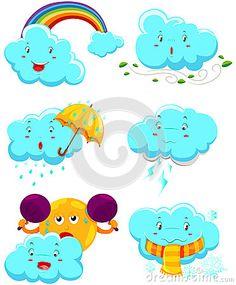 Set Of Weather Icons - Image: 44203877.