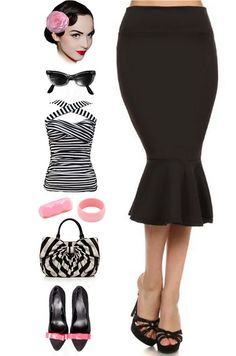 Rockabilly Baby, Rockabilly Outfits, Rockabilly Style, Rockabilly Fashion, Greece Costume, Pin Up Style, My Style, Vintage Outfits, Vintage Fashion