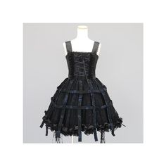 h.NAOTO FRILL 鳥かごスカートワンピース | Lolita Fashion | Pinterest | Birdcages ❤ liked on Polyvore featuring dresses