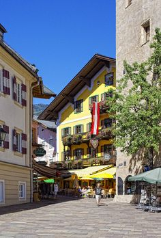 Zell am See Town Square, Austria