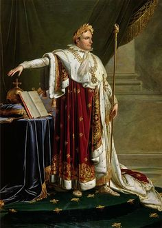 Napoleon I (by Anne Louis Girodet de Roucy-Trioson) - Emperor of the French (1804-1814) (March 1815 - June 1815)