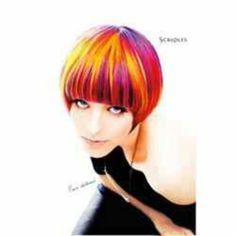 Bold haircolor