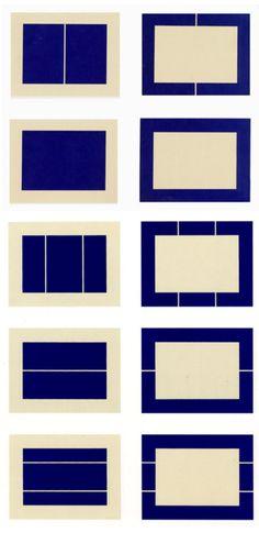 Untitled (S.# 177-186), 1988 Suite of ten woodcuts printed in  ivory black on Okawara paper 22 5/8 x 31 1/2 in. / 57.5 x 80 cm. each Edition of 25