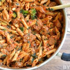 SNAP Challenge: Penne Pasta with Sausage and Greens