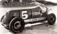 Cummins 2 cycle Diesel powered Duesenburg, 12th 1933 Indianapolis 500.
