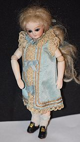 Wonderful Doll French Bisque Mignonette Jointed Swivel Head Miniature from ~ OLDECLECTICS ~ found @Doll Shops United http://www.dollshopsunited.com/stores/Oldeclectics/items/1299602/Wonderful-Doll-French-Bisque-Mignonette-Jointed-Swivel #dollshopsunited