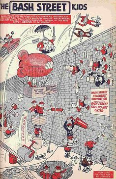 bash street kids- they are a bunch of my favorite cartoon characters!