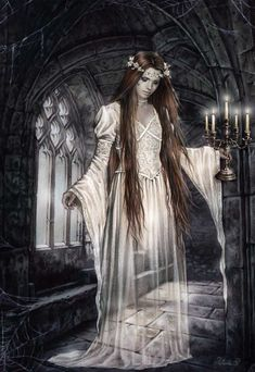 Gothic Art...by Artist Victoria Frances...
