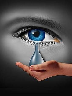 The Art Of Crying: How Expressing Grief Can Reduce Pain And Provide Emotional Relief - Reset. Signs Of Bipolar Depression, Bipolar Depression Treatment, Depression Treatment Centers, Depression Symptoms, Anxiety Treatment, How To Handle Depression, Depression Support, Crying Eyes, Moon Art