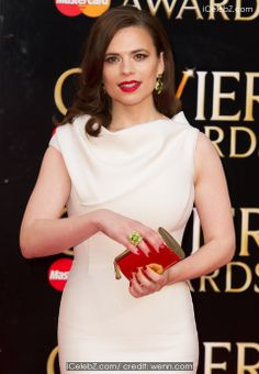 Hayley Atwell Olivier Awards 2014 held at the Royal Opera House http://icelebz.com/events/olivier_awards_2014_held_at_the_royal_opera_house/photo38.html